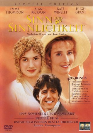 Sense and Sensibility / გრძნობა და გონება (1995/ქართულად)